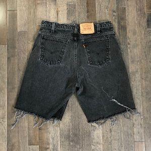 Vintage Levi's 550 custom cut off jean shorts!!!
